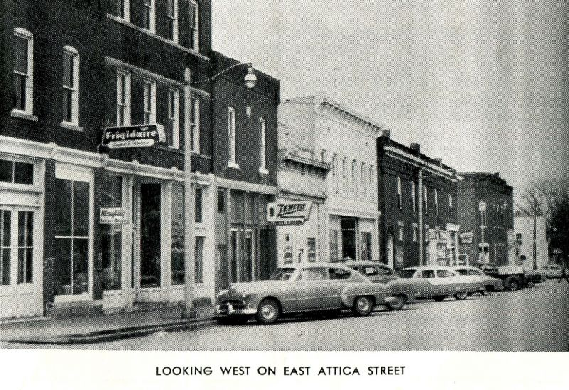 Looking West on East Attica